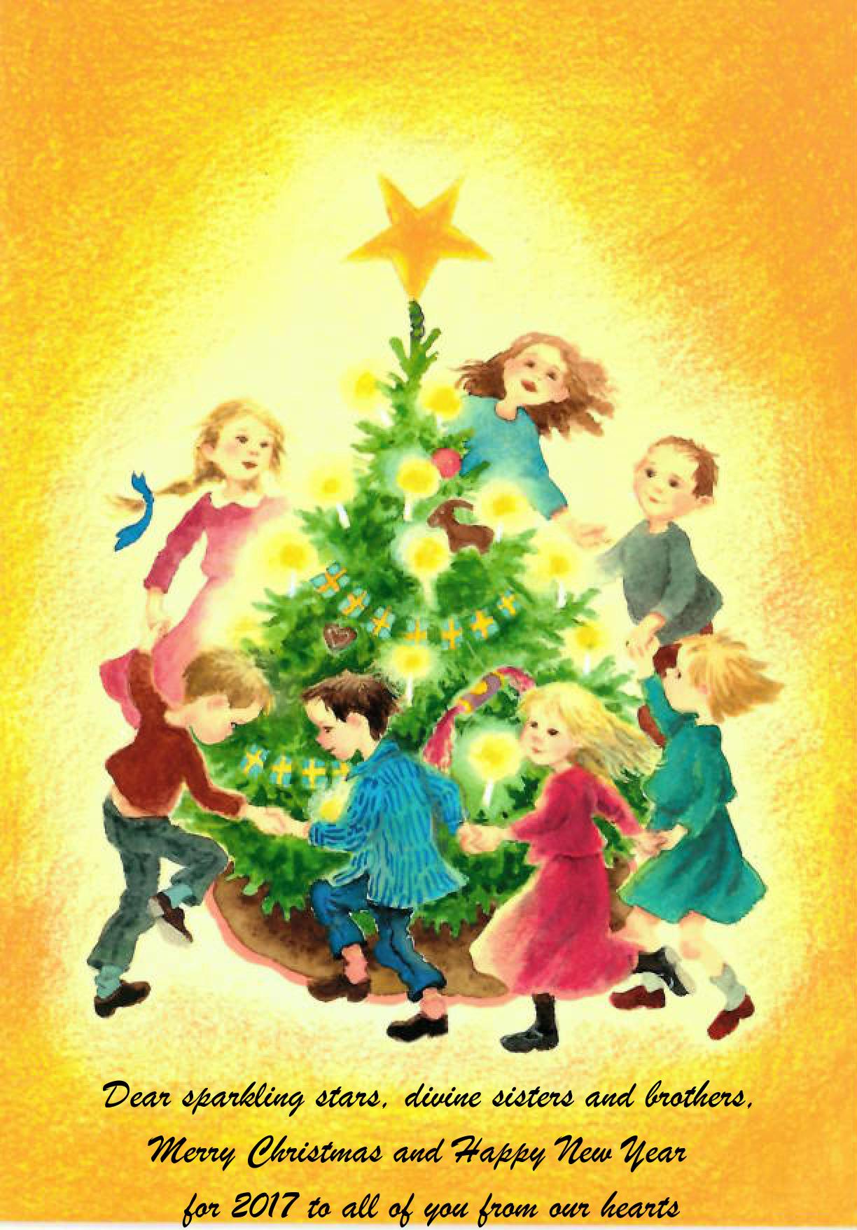 Frohe Festtage und ein glückliches Neues Jahr 2017 – Avyakt Bapdada Live